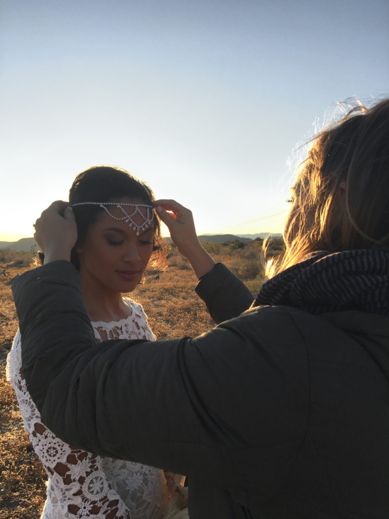 Behind the Scenes Joshua Tree Wedding Planner