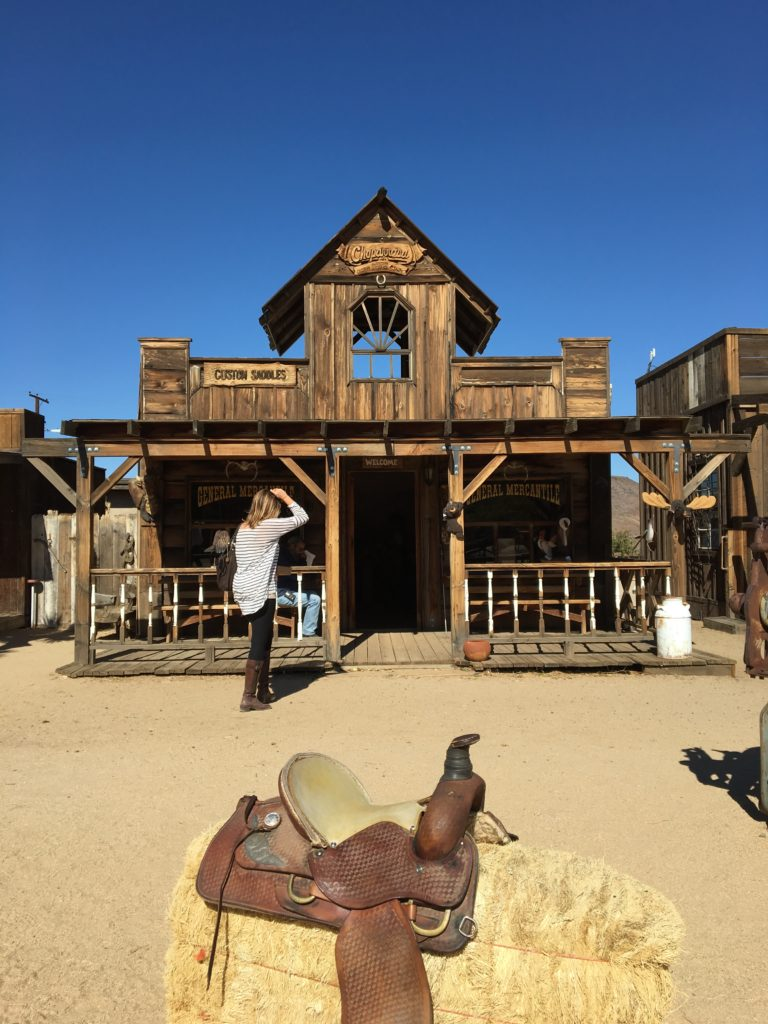 wedding in pioneertown