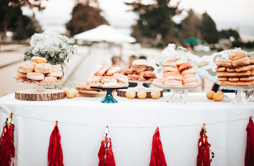 best dessert table ever donuts and tassles