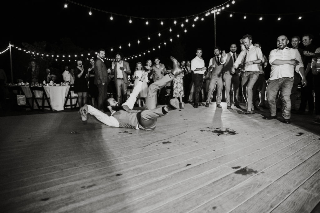 dancing at limoneira ranch under the bistro lights