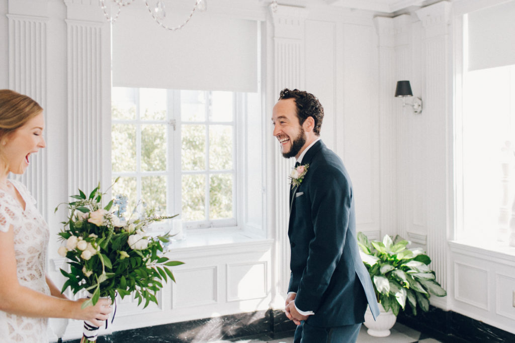 best first look ever at Culver Hotel los angeles wedding