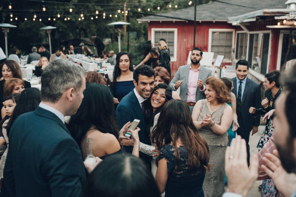 ojai bohemian wedding reception