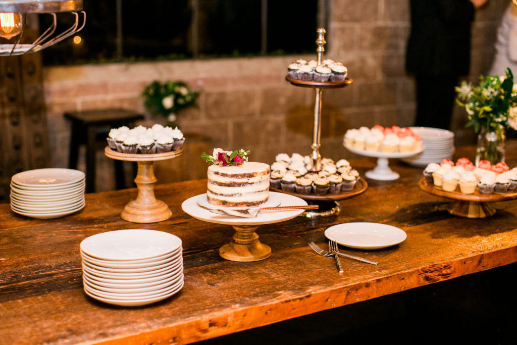 desserts from SusieCakes on farm table