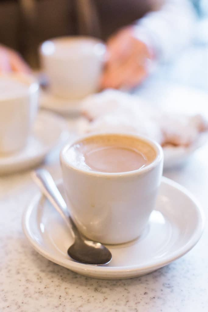 Chicory coffee is New Orleans at Cafe du Monde