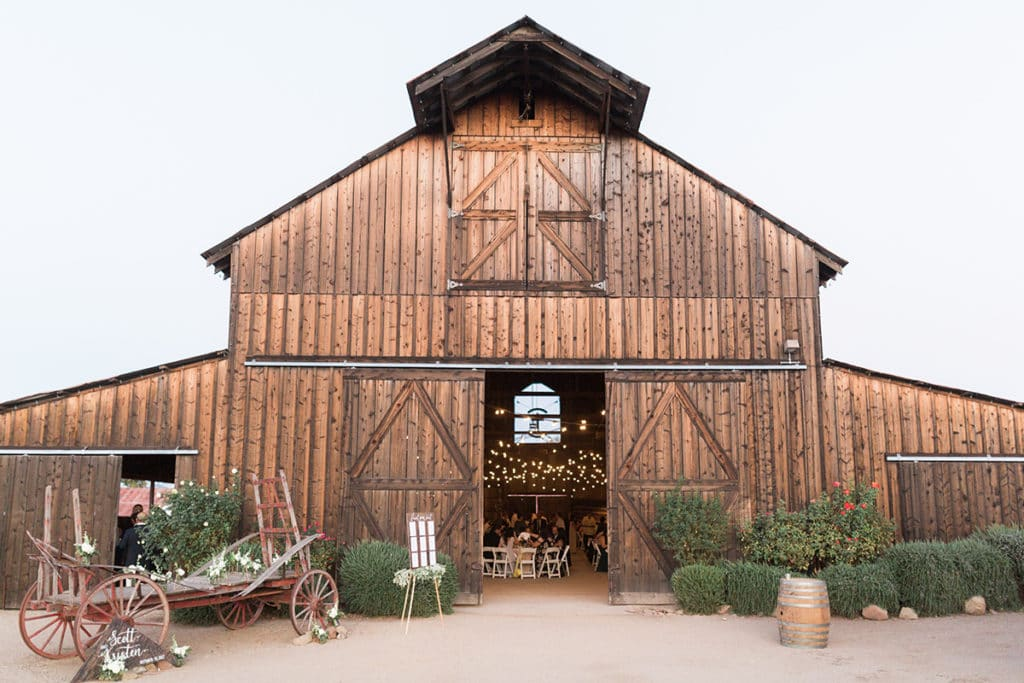 The Historic Santa Margarita Ranch has the best wedding venue inside the old barn