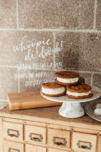 Whoopie pies for dinner party desserts