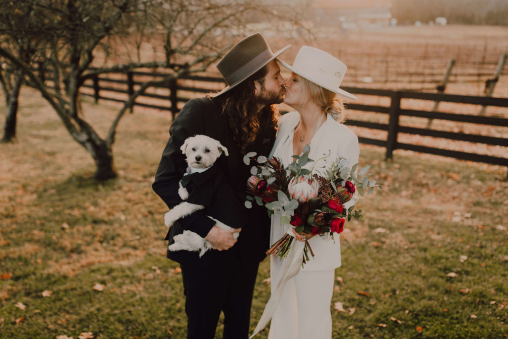 Hipster Nashville Elopement at Arrington Vineyards | Cause We Can Events
