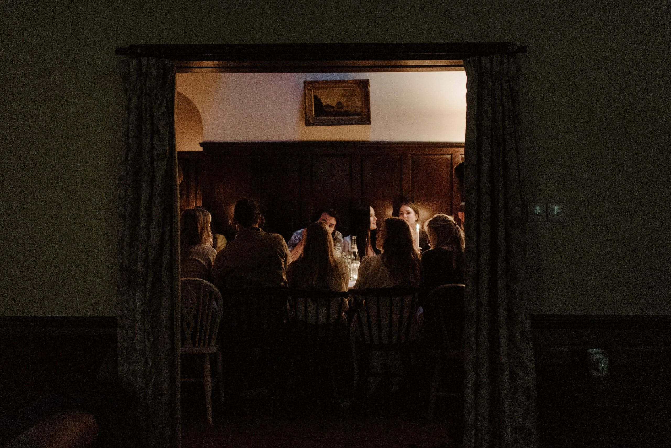 Wedding at Inshriach House, Scotland.