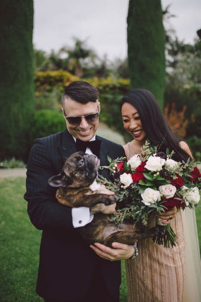 A romantic, edgy and pet friendly Los Angeles elopement in Beverly Hills
