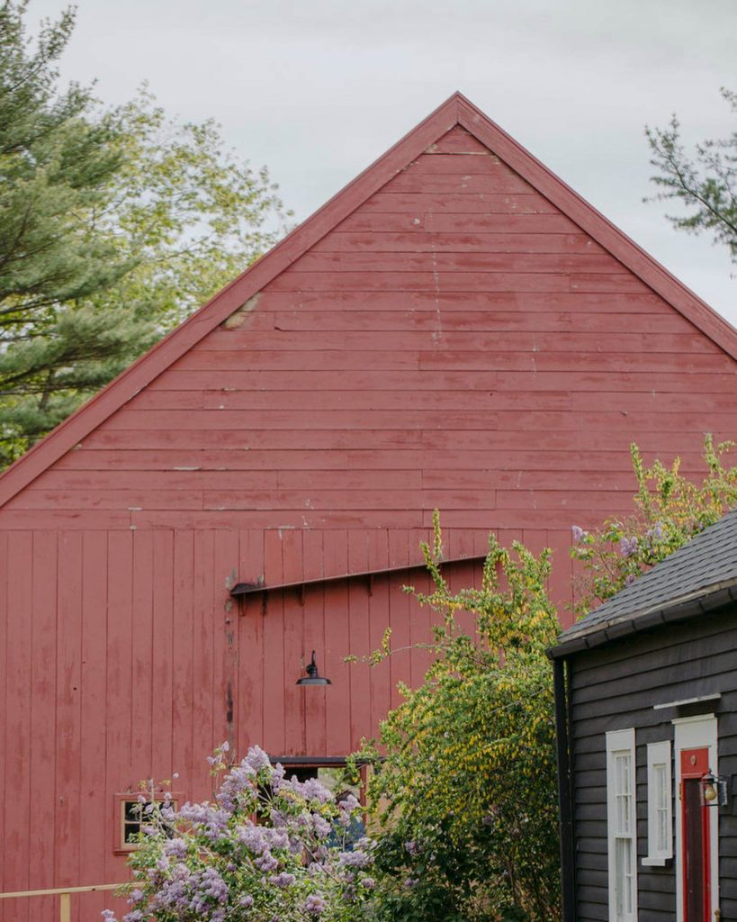 A historic inn and venue, the Squire Tarbox Inn, located in mid-coast Maine.