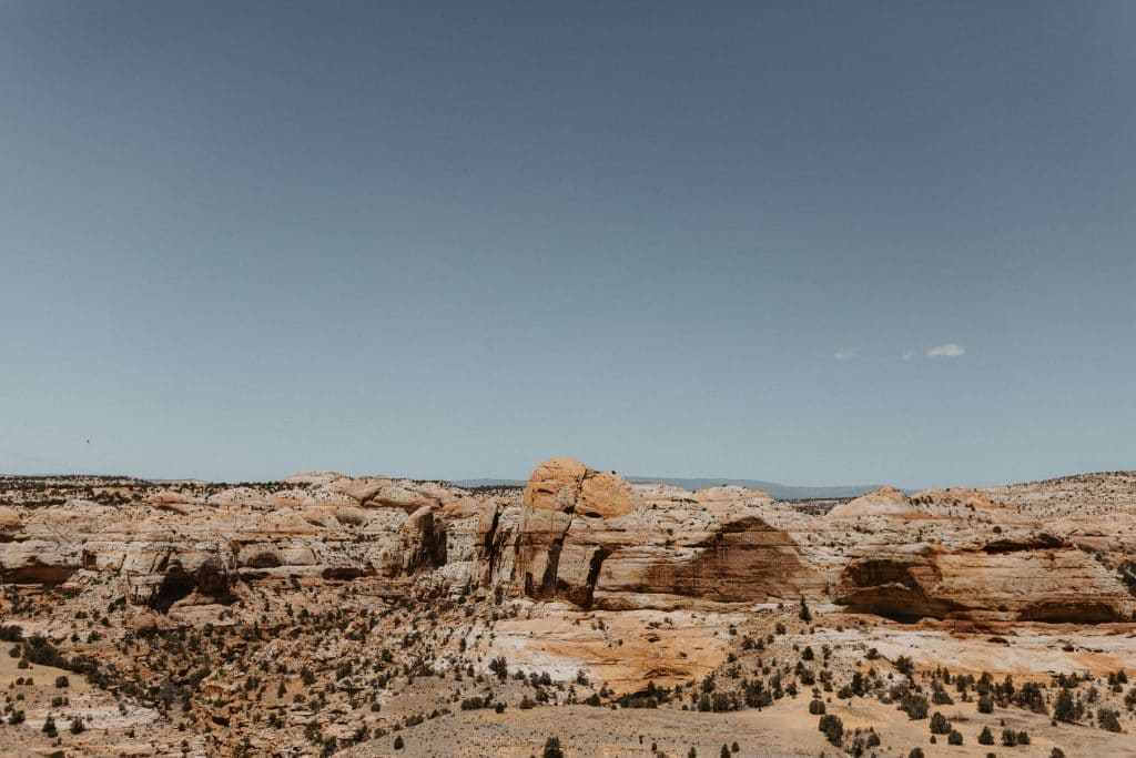 View from the Kiva Koffeehouse in Escalante, Utah. Perfect small venue for intimate wedding