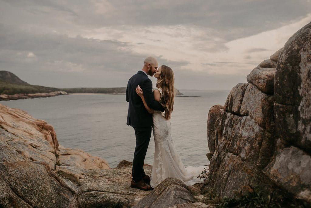 Acadia National Park intimate wedding with Katelyn Mallett