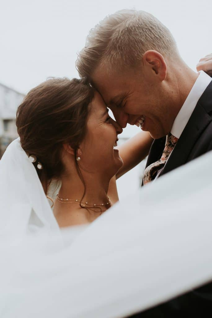 Downtown Portland Maine courthouse wedding
