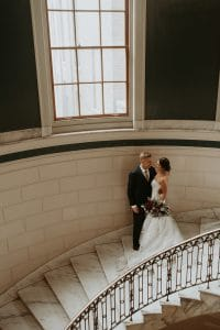 Courthouse wedding in Portland, Maine that makes elopements cool