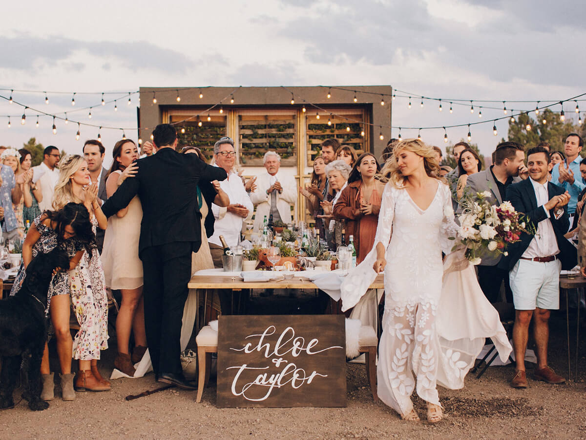 Bohemian Festival Wedding at Moab Under Canvas