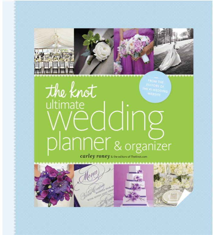 The Knot Wedding Planner book buy here
