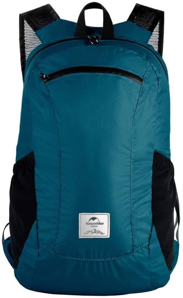 Blue lightweight backpack click link to purchase on amazon